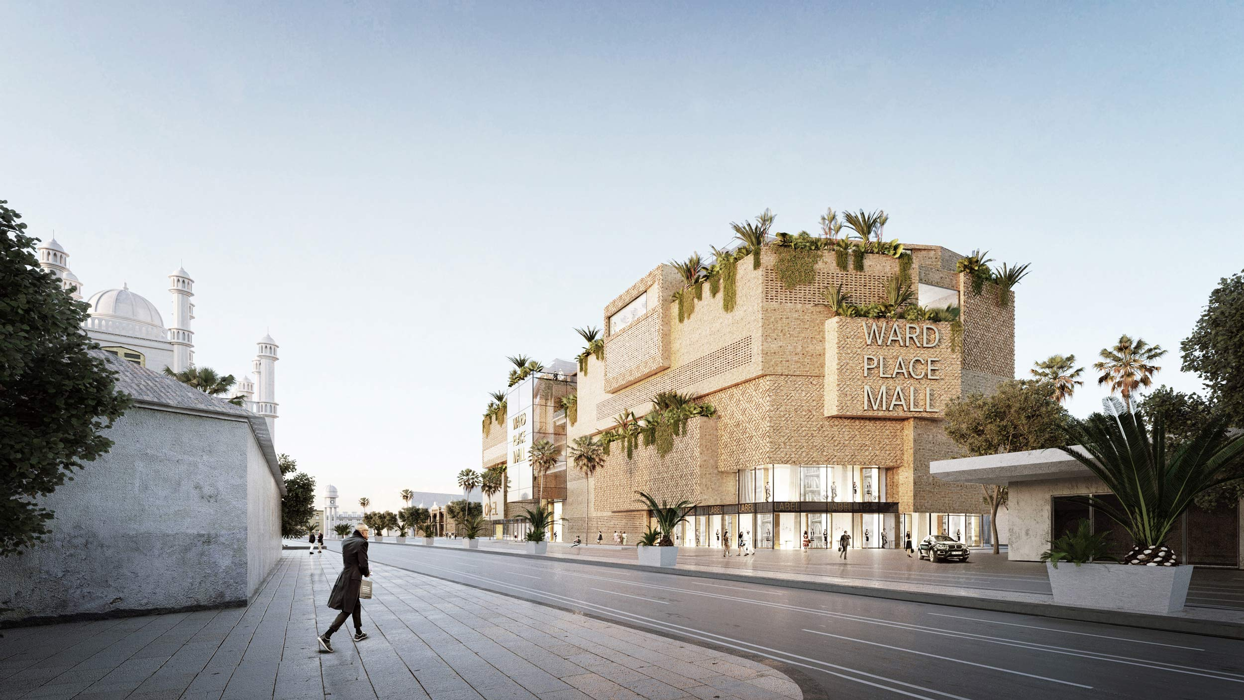 Blocher partners department store sri lanka 2015 - Renderings architektur ...